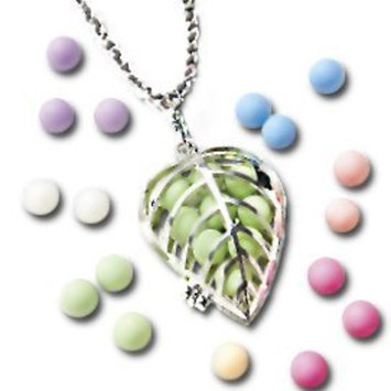 Aroma-Accents™ Locket and Chain, Silver with FREE Aroma Pearls