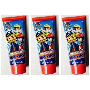 Nickelodeon Paw Patrol Body Wash Barking Berry 6 fl oz (Pack of 3)