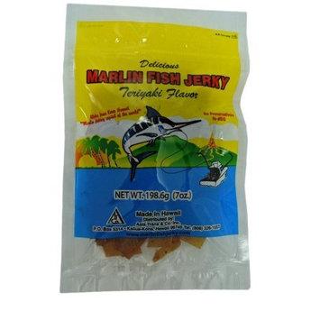 Hawaiian Marlin Fish Jerky Teriyaki Flavor 7 Oz