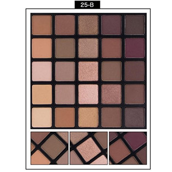 HP95(TM) Professional 25 Color Matte Eyeshadow Cream Eye Shadow Makeup Palette Set