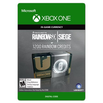 Incomm Xbox One Tom Clancy's Rainbow Six Siege Currency pack 1200 Rainbow credits (email delivery)