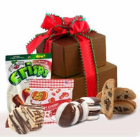 Sweet & Merry Holiday Gluten Free Small Gift Tower, 1.5 Lb.