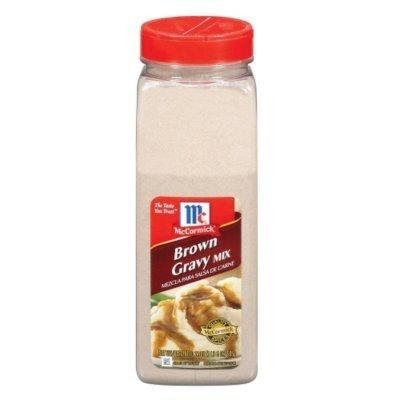 McCormick Brown Gravy Mix - 21 oz. (4 PACK) by McCormick