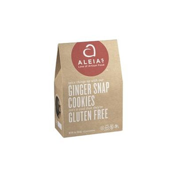 Aleia's Gluten Free Ginger Snap Cookies, 9 Oz. [3 Pack]
