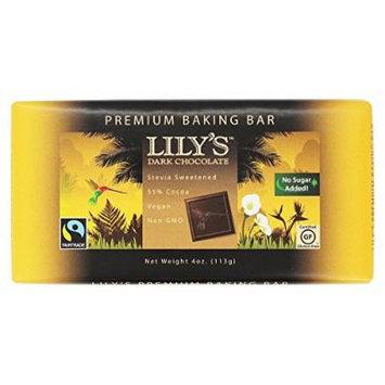 Lily's - Dark Chocolate 55% Premium Baking Bar - 4 oz.