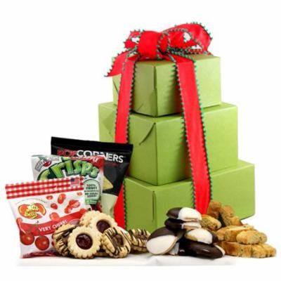 Holiday Delight! Gluten Free Large Gift Tower, 2 Lb.