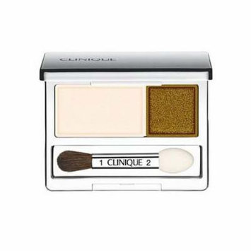 Clinique All About Crease and Fade Resistant Eye Shadow Duo - 0.07 Oz (Buttered Toast)
