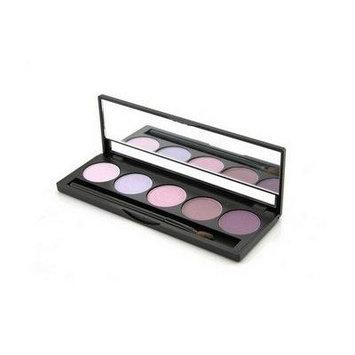 Jolie Micro Fine Mineral 5 Shade Eyeshadow Compact W/ Brush - Emethyst Gems