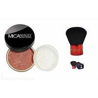 Bundle 2 Items: Mica Beauty Mineral Bronzer + premium Itay Beauty Kabuki (FB-3 Sunlight)
