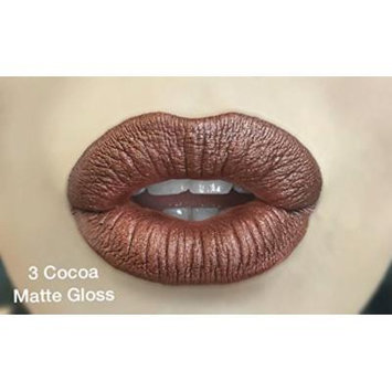 Lipsense COCOA with MATTE gloss and cool undertones Starter Kit includes color, gloss and oops remover
