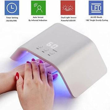 Makartt USB 24W LED UV Nail Dryer Curing Lamp for Fingernail Toenail Gels Based Polishes