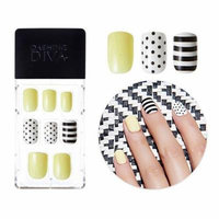 Dashing Diva Full Cover Gel Nail Tips, Easy to attach without Glue (Square Type, Disposable) MPGS26