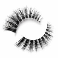 LILLY LASHES 3D Mink Lashes in style Janice - Invisible band