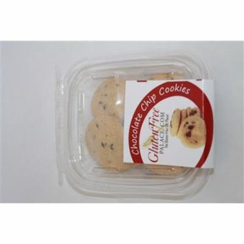 GlutenFreePalace.com Mini Pack Cookies, Chocolate Chip Cookies, 2 Oz. [6 Pack]