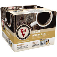 Victor Allens Coffee & Espresso Decaffeinated Morning Blend Coffee (42 Single Serve Cups per Case) FG014232