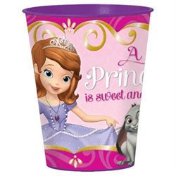 Sofia the First 16 oz. Plastic Party Cup, Party Supplies