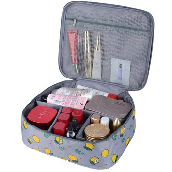 Portable Travel Makeup Cosmetic Bag Organizer Multifunction Case for Women (Color28) ¡
