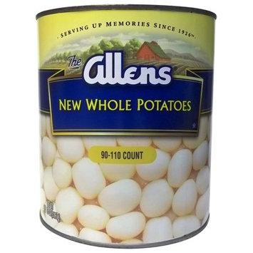 Sager Creek Vegetable Company Allens White Whole Potatoes 102oz