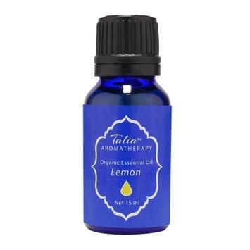 Organic Lemon Oil Essential Oil, Pesticide & Herbicide Free Talia Organics 15 ml Oil