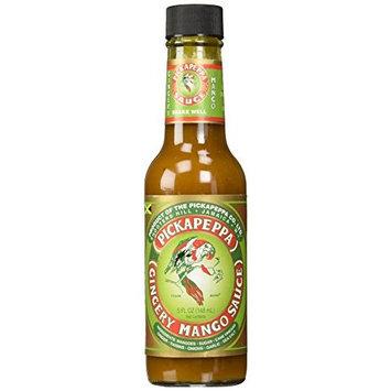 Pickapeppa Mango Sauce, Gingery, 5 Ounce