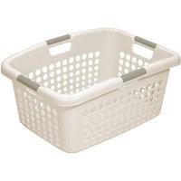 Hms Manufacturing Home Logic 1.9-Bu Large Capacity Pearl Laundry Basket