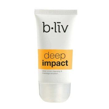 b.liv Deep Impact 50ml (deep pores cleansing & massage emulsion) - exfoliating scrub