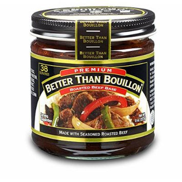 Better Than Bouillon Premium Roasted Beef Base, 8.0 OZ (Pack of 6)