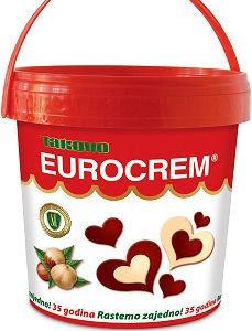 Takovo Eurocrem Hazelnut Milk and Cocoa Spread 1000g