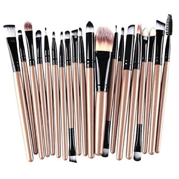 LUNIWEI Beauty Makeup 20 PCS/Set Brush Set