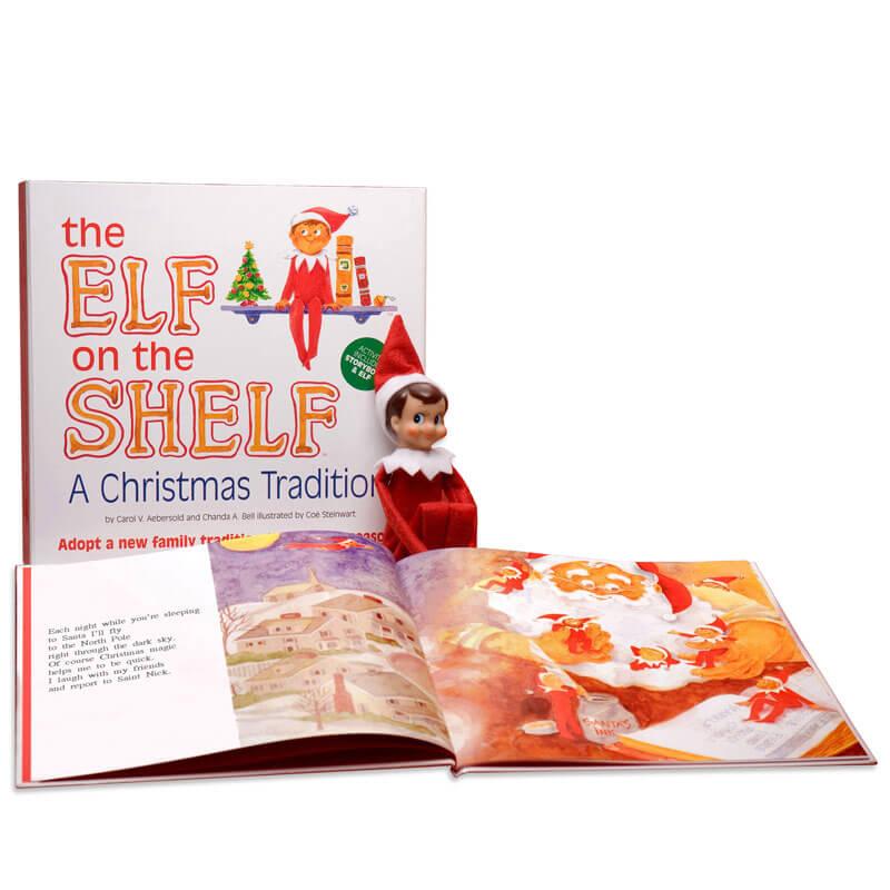 Elf On The Shelf Book Set