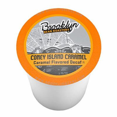Brooklyn Beans Coney Island Caramel Decaf Single-Cup Coffee for Keurig K-Cup Brewers, 40 Count