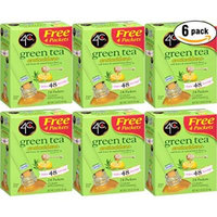 4C Green Tea Antioxidant With Honey & Natural Lemon, 1.53oz per Packet, 24 Ct. Box (Pack of 6, Total of 144 Packets)