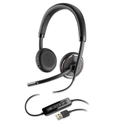 Blackwire 500 Series Binaural Over-the-Head Headset, Sold as 1 Each