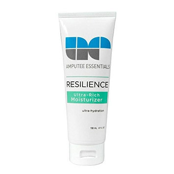 Amputee Essentials Resilience Ultra-Rich Prosthetic Moisturizer, Skin Repair, 4 oz (118 ml) Tube