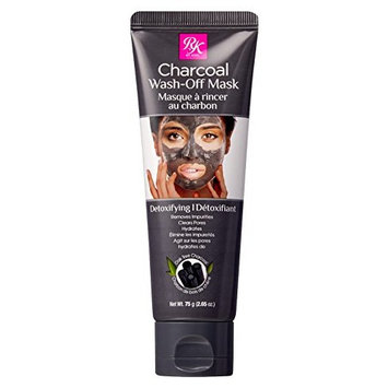 Kiss Ruby Kisses Charcoal Mask Wash Off 2.65 Ounce Tube (78ml)