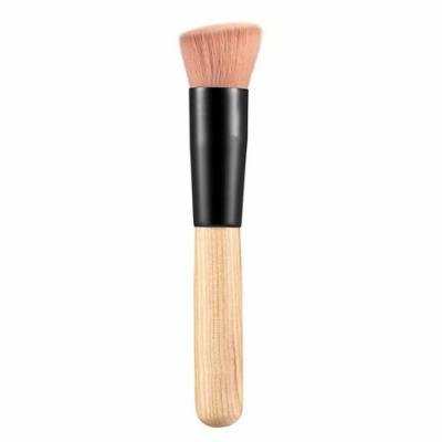 Maquiagem Multifunction Makeup Brush Soft Fiber Flat Top Foundation Powder Angled Brush Cosmetic Tool