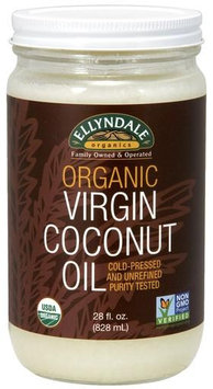 Virgin Coconut Oil Organic Ellyndale Organics 28 oz Oil
