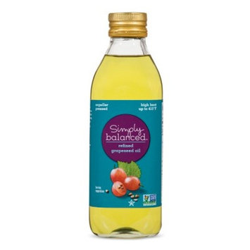 Refined Grapeseed Oil - 16.9oz - Simply Balanced™