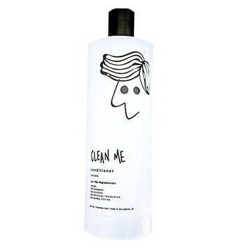 Clean Me. Daily Men's Conditioner | Natural & Moisturizing with Argan, Hemp, Tea Tree, and Eucalyptus Oils | Paraben and Sulfate Free | Vegan | Cruelty-Free | 16 oz