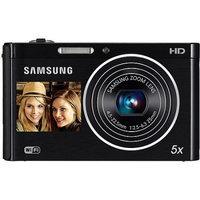 Samsung - DualView DV300F 160-Megapixel Digital Camera - Black
