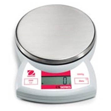 Ohaus CS5000P Portable Compact Scale W/ US Postal Chart 5,000 g Cap