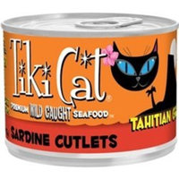 Tiki Pet Foods Cat Tahitian Grill Sardine Cutlets