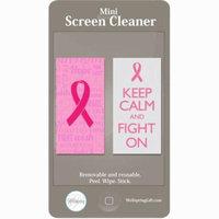 Wellspring Pink Ribbon Mini Screen Cleaner