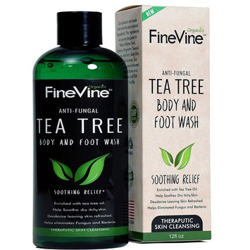 Antifungal Tea Tree Oil Body Wash - Made in USA - Helps Treat Eczema, Ringworm, Body Odor, Jock Itch, Acne, Toenail Fungus & Athlete - Best Antibacterial Soap for Skin Irritations.: Health & Personal Care