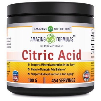 Amazing Nutrition Citric Acid