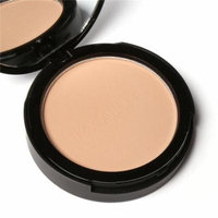 Face Powder Bronzer Highlighter Shimmer Face Pressed Powder Makeup Cosmetics with Mirror and Puff HITC