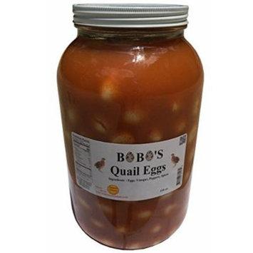 Bobo's Pickled Quail Eggs - Gallon