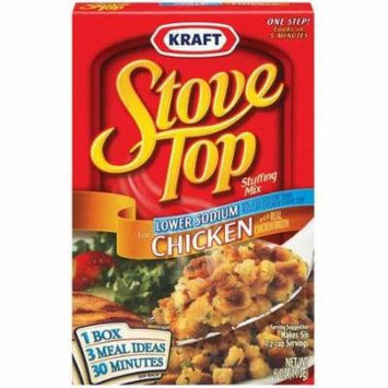 Kraft, Stove Top, Stuffing Mix, Chicken, Lower Sodium, 6 Oz (Pack of 3)