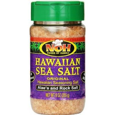 (PACK OF 2 BOTTLES) Hawaiian Seasoning Salt Original 9 Oz.