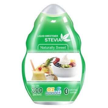 EZ-Sweetz De-bittered Stevia (1.36oz - Liquid Sweetener 300 Servings/Bottle)